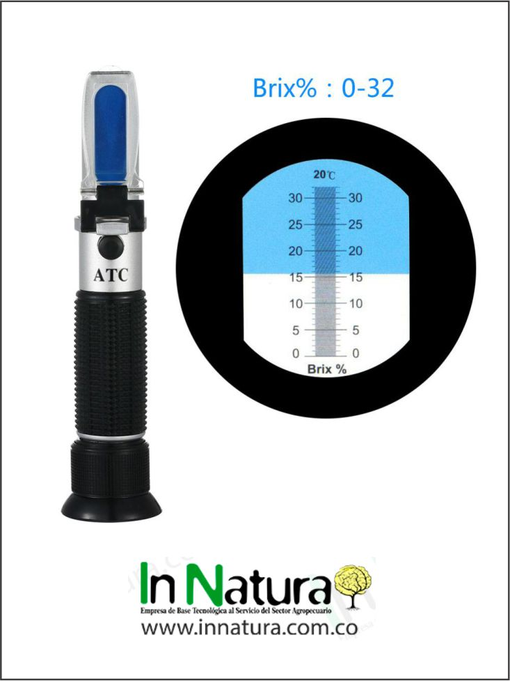 Portable Honey Refractometer 0-32% Brix - Importado